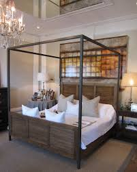 pretty modern room ideas with cream wooden storage beds near