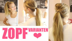 Frisuren Zum Selber Machen Toupieren by Zopf Varianten