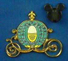 Cinderella S Coach Dlr Cinderella S Coach Jeweled Disney Pin 53337 Ebay