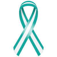 teal ribbons ribbons awareness cancer services winston salem nc