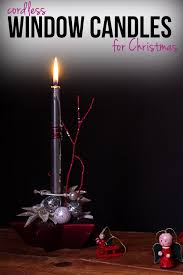 Window Candle Lights Cordless Window Candle Lights They Look Inviting With No Fire Hazard