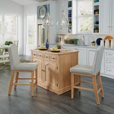kitchen island set home styles cambridge white wash kitchen island set with