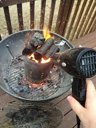 Barbecue How Can I Light Charcoal Faster Seasoned Advice