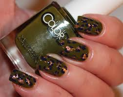 color club safari club swatches nail art set in lacquer