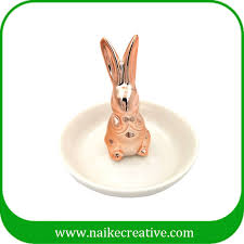 ceramic rabbit ring holder images Ceramic items jpg