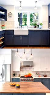 Professionally Painted Kitchen Cabinets by Best 25 Blue Kitchen Cabinets Ideas On Pinterest Blue Cabinets