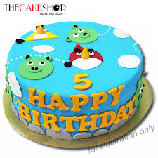fondant cake angry bird cake delivery singapore