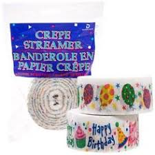 crepe paper streamers bulk bulk pink crepe paper streamers 70 5 ft 2 ct packs at