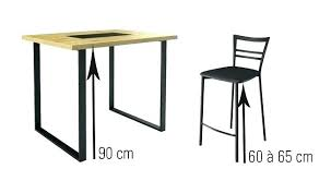 hauteur table de cuisine hauteur table bar cuisine hauteur table bar cuisine chaise cuisine