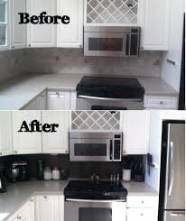 Stick On Kitchen Backsplash Self Adhesive Backsplash Tiles Kitchen Peel And Stick Photo Self