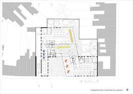 Admin Building Floor Plan | gallery of willebroek administration building brut 33