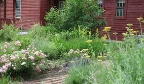 colonial garden wilton historical society