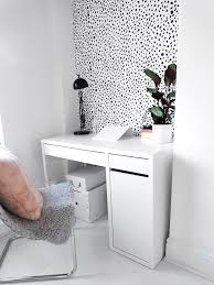 removable wallpaper uk blogger interior style dalmatian print wallpaper uk fashion influx