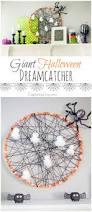 spiderweb dreamcatcher diy halloween decorations
