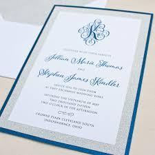 monogram wedding invitations monogram invitation