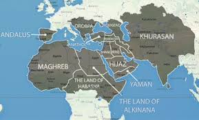 Eastern World Map by The World According To Isis The Terrorist Army U0027s Dreams For