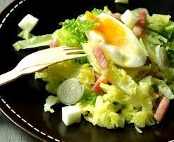cuisiner le chou frisé salade d hiver au chou vert recette de salade d hiver au chou vert