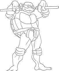 teenage mutant ninja turtles coloring pages pdf colouring