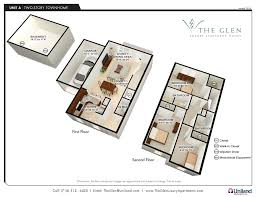 luxury apartment plans three bedroom apartments the glen the buffalo area s premier