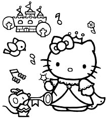 hello kitty coloring pages 06 of 15 u2013 princess hd wallpapers