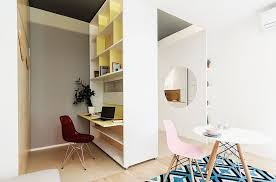 micro apartments under 30 square meters apartments multi functional moving wall for micro apartment this