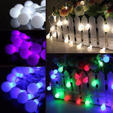 Light String Christmas Tree by 10m 100 Led Fairy String Light Berry Ball Lamp Wedding Christmas
