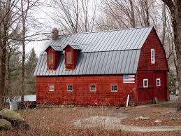 gambrel roof house 95 west side road goshen northwest highlands historic barns