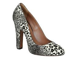 alaïa heeled pumps shoes in leopard texture pony leather italian