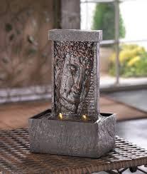 peaceful buddha indoor water fountains