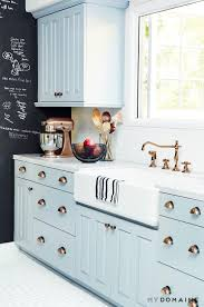 Color Ideas For Painting Kitchen Cabinets by 23 Best Kitchen Cabinets Painting Color Ideas And Designs For 2017