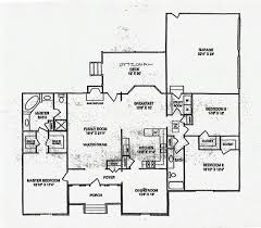 one story house plans with large kitchens baby nursery one story house plans with large kitchens single
