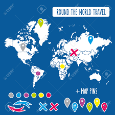 Pin World Map by 166 Japan Map Pin Stock Illustrations Cliparts And Royalty Free