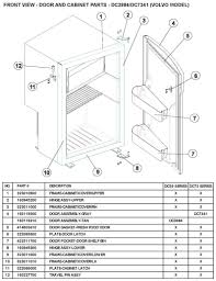 volvo truck parts diagram laurelhurst distributors parts breakdown norcold dc3984 dc7341