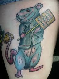 30 cool rat tattoo ideas for you
