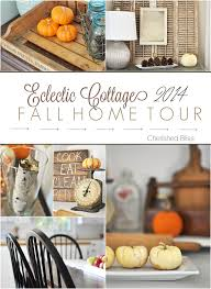 fall home decorating eclectic cottage fall home tour cherished bliss