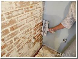 How To Paint A Faux Brick Wall - best 25 german smear technique ideas on pinterest german smear