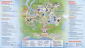 Disney World Hotel Map Disney World Magic Kingdom Map In Roundtripticket Me