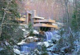 fallingwater in winter by glenninacrypt on deviantart