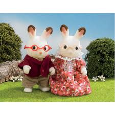 chocolate rabbits chocolate rabbit family figures from sylvanian families wwsm