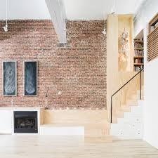 Modern Lofts by A Former Wells Fargo Horse Stable In Jersey City Gets Converted To