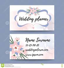 wedding planner business wedding planner business wedding planner business card