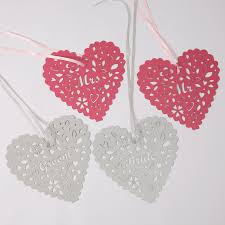 heart decorations wedding chair heart decorations 2 pk hanging lantern company