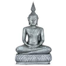 thai buddha statues and buddha heads