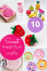 sweet treat fun craft ideas