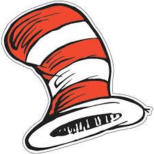 cut outs dr seuss the cat s hat paper cut outs