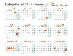 Kalender 2018 Hari Raya Idul Fitri Feiertage 2017 Indonesien Kalender übersicht