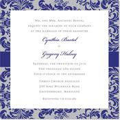 Royal Blue Wedding Invitations Blue Wedding Invitations Aqua Navy Royal Blue Wedding