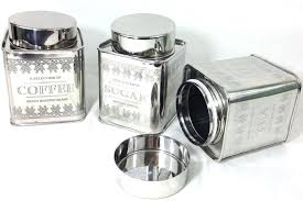 silver kitchen canisters kitchen canisters silver kitchen decorative canisters kitchenette