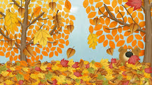 autumn fall song for children simple song to learn english