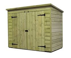 empire sheds ltd 7 x 4 wooden bike shed reviews wayfair co uk